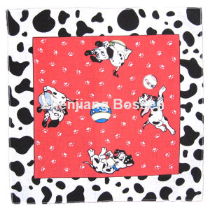 OEM Produce Customized Logo Design Printed Promotional Cotton Headband Scarf pictures & photos