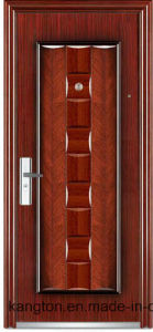 New Style Steel Security Door with Transfer-Printing (Steel security door) pictures & photos