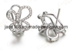 Fashion Gold Diamond Jewelry Earrings (GDE-002)