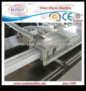 PVC Aluminium Window and Door Profile Production Line (SJSZ-65/132) pictures & photos