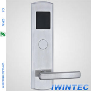 Stainless Steel 304 Hotel Door Lock, Advanced Digital Electronic Lock, RF Card Door Lock pictures & photos