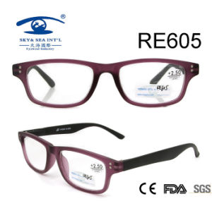 Double Color Handmade Cheap Reading Glasses (RE605) pictures & photos