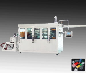 High Automatic Plastic Cup Thermoforming Machine with Hydraulic System pictures & photos