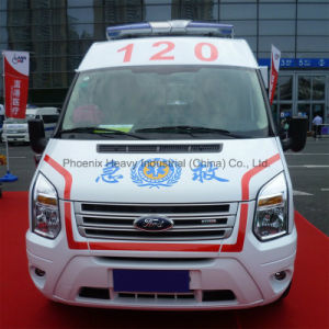 High Quality Ford Ambulance Car with 3 Seats pictures & photos