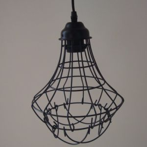 Antique Vintage Shades E27 E26 Light Bulb Fixture/Fitting Hanging Bird Cage (BYW) pictures & photos