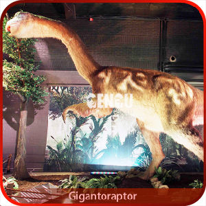The Simulation Artificial Mechanical Dinosaur pictures & photos