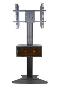 """Public TV Floor Stand Floorbase 30-60"""" Landscape & Portrait Mediabox (AVB 106D) pictures & photos"""