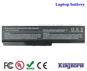 Satellite Dynabook Laptop Replacement Li-ion Battery for PA3817u (L600 L700 L630 L730 L750 M600 C600) pictures & photos