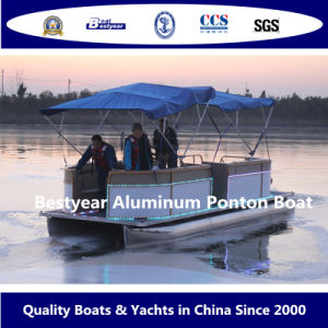 Bestyear Aluminum Pontoon Boat pictures & photos