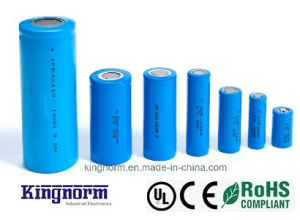 18500 3.2V 1000mAh LiFePO4 Battery Cell with Ce Un38.3 pictures & photos