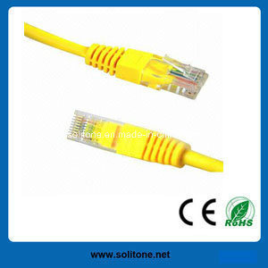 UTP Cat5e Pass Fluke Tested Patch Cable pictures & photos