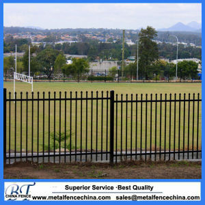 Powder Coated Pregalvanized Spear Top Security Garrison Fencing for Perth pictures & photos