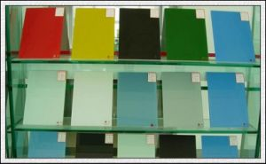 3-8mm Varnish Lacquered Painting Glass Hot [Painted Glass pictures & photos