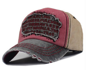 Fashion 3D Embroidery Vintage Baseball Sport Cap pictures & photos