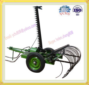 Agricultural Machinery Trailed Mowing Hay Rake Machine Mounted Yto Tractor pictures & photos