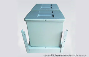 Cacar Kitchen Pull-Draw Type Garbage Can Waste Bin (CCB19) pictures & photos