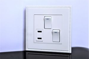 Wall Switch Socket 2g 1W 1 Socket pictures & photos