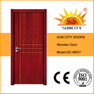 China Room Bedroom Doors, Solid Wooden Doors (SC-W037) pictures & photos