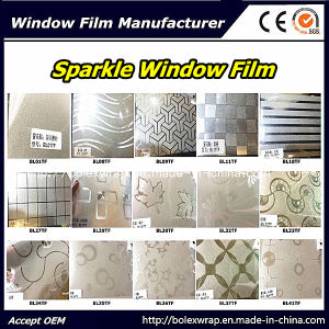 Fashion Design Decorative Sparkle Window Film Glass Window Film 1.22m*50m pictures & photos
