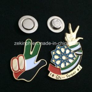 Custom Soft Enamel Badge with Magnet Attachment pictures & photos