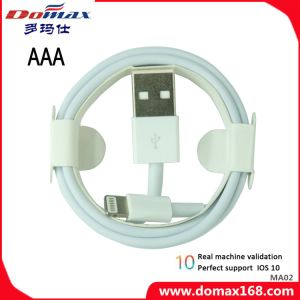 White Color Lightning to USB Cable Adapter Data USB Cable pictures & photos