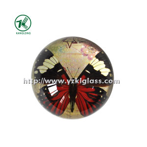 Color Glass Cartoon Paperweight by SGS (KL140308-1C) pictures & photos