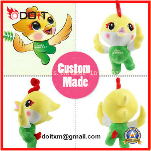 OEM Custom Sports Olympic Game Event Plush Stuffed Mascot Toy with Torch pictures & photos