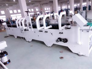 Bottom Lock Paper Board Gluing and Folding Machine (GK-780CA) pictures & photos
