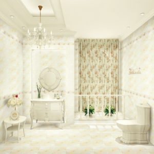 300X600mm White Color Bathroom Ceramic Wall Tile (1LP26411) pictures & photos