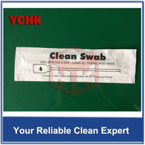 High Ink Absorption Lint Free Foam Sensor Cleaning Swabs pictures & photos