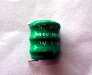 3.6V Ni-CD, Ni-MH Button Cell Battery pictures & photos
