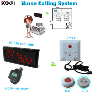 CE Approved 433.92MHz Wireless Nurse Calling System pictures & photos