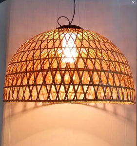 Country Style Natural Rattan Indoor Pendant Lamp pictures & photos