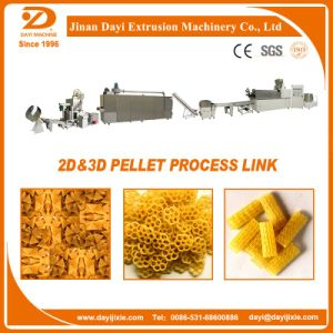 2D and 3D Pellet Snack Food Process Line Food Extrsuion Machine pictures & photos