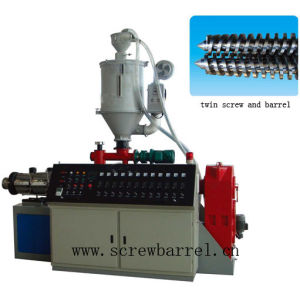 Twin Screw Barrel Extruder Screw (QY-L079)