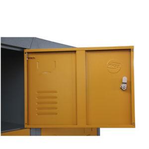 Tinted 12 Door Metal Steel Locker pictures & photos