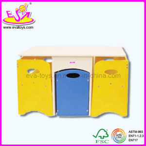 Folded Children Wooden Storage Table (WJ278358) pictures & photos