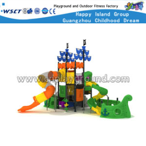 Pirate Ship Outdoor Playground Children Slide Equipment HD-Kq001 pictures & photos