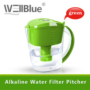 Wellblue Antioxidant Alkaline Water Pitcher in Water Filters (L-PF601)