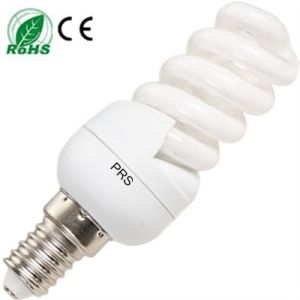 Full Spiral Energy Saving Lamp/ Compact Bulb/ CFL Light 9mm (PRS-F-S) CE/RoHS