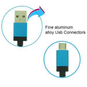 Charger Cable Micro USB Data Cable with Android Mobile Phone pictures & photos
