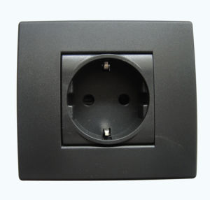 LV13-2-N Italian 2 Module Plastic Wall Switch pictures & photos