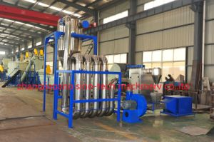 Plastic Pet Bottle Flakes Recycling Line/Washing Machine pictures & photos