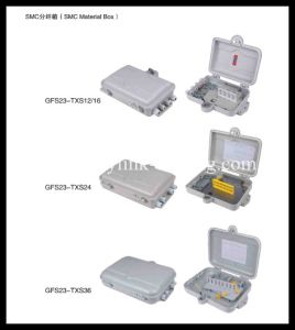 Cold Rolled Sheet FTTH 36 Cores Distribution Box-FTTH Terminal Box pictures & photos
