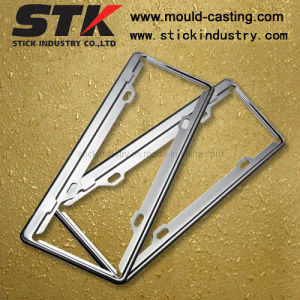 Zinc Alloy License Plate Frame for Car Accessories (LP002) pictures & photos