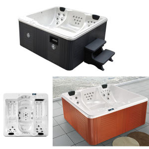Outdoor Hydro Massage Bathtub Jacuzzi Whirlpool Acrylic Tub pictures & photos