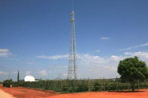 Power Transmission Steel Tower 132kv