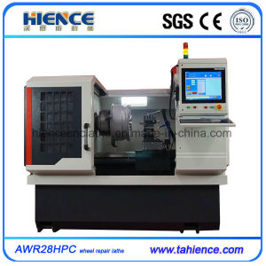 PC Type Diamond Cut Alloy Wheel Repair CNC Lathe Machine pictures & photos