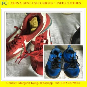 Second Hand Export Clothes Factory Export Secondhand Shoes pictures & photos