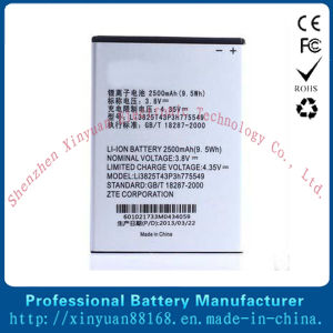 Mobile Cell Phone V987 Battery for Zte (Li3825T43P3h775549)